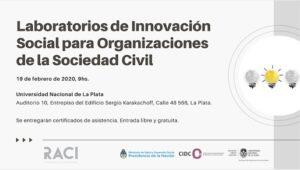 Laboratorios de innovación social para organizaciones de la sociedad civil
