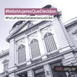 Solicitud por la nominación de una mujer para la Suprema Corte de la Provincia de Buenos Aires