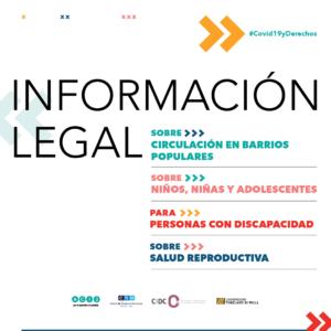 Información legal en tiempos de COVID-19